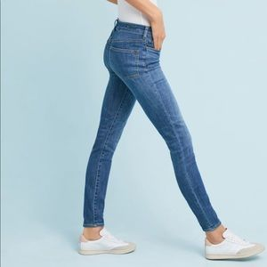 Pilcro and the Letterpress High-Rise Denim Jeans